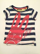 Baby Girls' Striped T-Shirts 0-24 Months