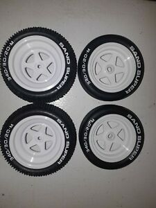 1/10 kyosho turbo scorpion tomahawk beetle tamiya losi assiated wheels and tires