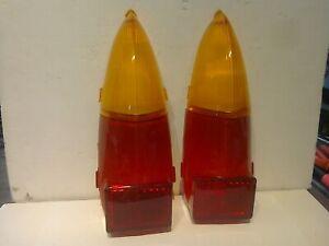 RILEY ELF WOLSELEY HORNET MINI 1100 1300 AMERICA REAR AMBER RED LENSES NOS LUCAS