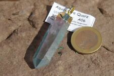 Aqua-Aura Spitzen Anhänger A06 Aqua-Aura Anhänger ca.6,15 cm  mit Gold bedampft