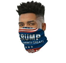 Face mask reusable washable covering masks Trump Maga 2020, neck gator, shield