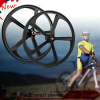 Teny New Mag Alloy 700c Single Speed Wheelset With Rear Disc Brake