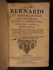 1667 Saint Bernard of Clairvaux Medieval Monastics Monasticism Cistercian Order