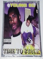 Young Ed - Time To Stack (Gold Cassette Tape) Cellski Bay Area Rap Hip-Hop