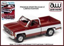 Auto World New Premium '19 Chevy Cheyenne C10 Fleetside 1:64th Scale Diecast Car
