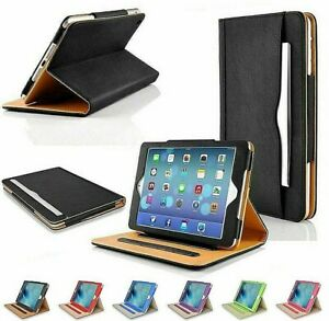iPad Pro 11 Case 2018 Magnetic Smart Cover Leather Wallet  Folio Stand for Apple