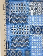 TRIBECA C4317 BLUE  TIMELESS TREASURE  100% Cotton Fabric priced by the 1/2 yard
