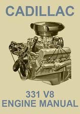 CADILLAC 331 V8 ENGINE REBUILD MANUAL