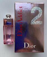 Dior ADDICT 2 EAU DE TOILETTE 5 ml 0.17 FL OZ MINIATURE VIP GIFT