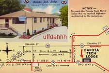 DAKOTA TECH MOTEL, RAPID CITY, SD. Highway 79 Mr and Mrs Martin Bach