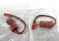 Lot of 2 HobbyKing T-Connector - JST Female In-line Power Adapters 18870