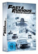 FAST AND & FURIOUS 1-8 STAFFEL 1 2 3 4 5 6 7 8 MOVIE COLLECTION DVD BOX DEUTSCH