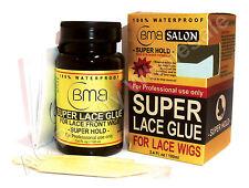 BMB Salon Super Encaje Pegamento Para encaje Pelucas 100% Impermeable 3.4 Fl.oz / 100ml + Bonus