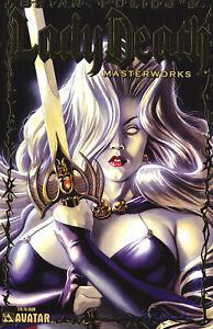 Lady Death: Masterworks Limited Gold Foil Variant Cover !!!  NM