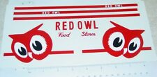 Tonka Red Owl Stores Semi Truck Sticker Set      TK-118