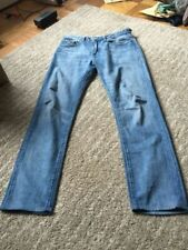Made and Crafted Levi's Shuttle Skinny Jeans 34 X 33
