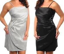 Polyester/Spandex Clubwear Plus Size Dresses for Women