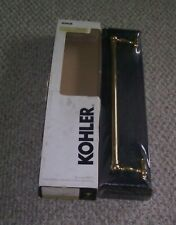 "KOHLER PORTRAIT 18"" POLISHED BRASS TOWEL BAR NEW!"