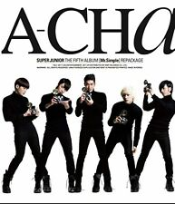 K-POP SUPER JUNIOR 5th Repackage Album [A-CHA] CD Sealed