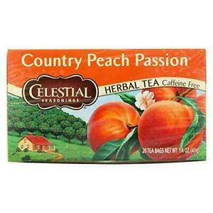 Celestial Seasonings Natural Herb Tea, Country Peach Passion