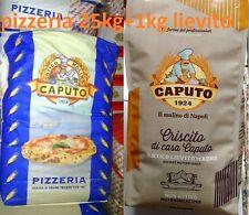 Farina Molino Caputo pizzeria Rossa 25kg pizze Lievito CRISCITO 1 kg per impasti