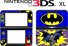 Nintendo 3DS XL 3DSXL 3DS XL Batman Cartoon Carcasa de Vinilo Pegatina