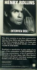 HENRY ROLLINS Interview Disc 1997 PROMO - BLACK FLAG