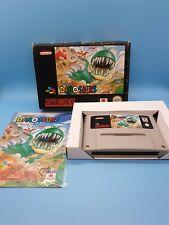 Hungry Dinosaurs Super Nintendo SNES mit OVP und Anleitung Sehr Selten