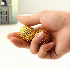 1 Pair Magnetic for Palm Massage Balls Needle Trigger Point Muscle Health CareTO