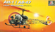 095 ITALERI AH-1/AB-47 1/72 Kit Modello in Plastica Elicottero scala 1/72