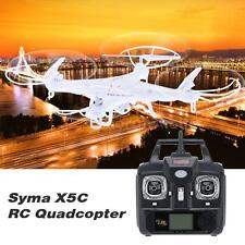 SYMA X5C RC HELICOPTER QUADCOPTER DRONE W/ 2MP FPV Camera 2.4GHz 4CH 6Axis