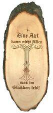 Irminsul Holzrindenscheibe Wikinger Walhalla Odin Mittelalter Thorshammer