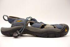 Keen Hommes Newport H2 Bleu Randonnée Marche Sandales Eau Chaussures Taille 10