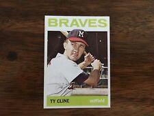 1964 Topps Baseball Card TY CLINE #171 NRMT