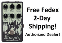 New Earthquaker Devices Afterneath v3 Reverb Guitar Effects Pedal