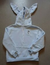 Blue Long sleeve cute ear warm Hoodie chinese size XL UK M/L