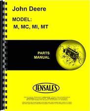 John Deere M Mi Mt Tractor & Mc Crawler Parts Manual (Jd-P-Pc848)