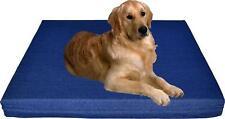 Durable Waterproof Orthopedic Memory Foam Pet Dog Bed + heavy duty denim cover