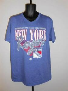 New- New York Rangers Mens size Large (L) Shirt by Majestic