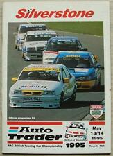 SILVERSTONE 13/14 May 1995 AUTO TRADER RAC TOURING CAR CHAMPIONSHIP A4 Programme