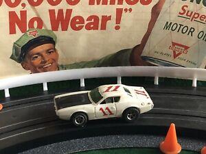Vintage DODGE CHARGER STOCK CAR Aurora AFX Racing Slot Car T-JET MoDeL MoToRing