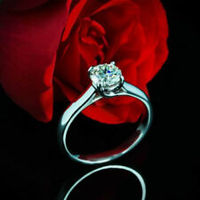 Solitaire Trellis .50 Carat Round Diamond H/VS2 Engagement Ring White Gold