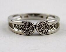 G12 Diamant Ring weißgold 585 Gold besetzt mit 16 Diamanten 0,08 carat