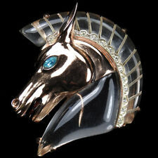 Corocraft Sterling Jelly Belly Horse Head Pin Clip