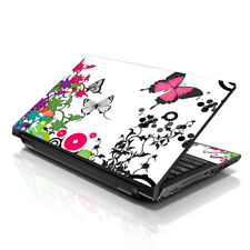 "17.3"" 18"" 19"" Laptop Notebook Skin Sticker Protective Decal Butterfly L-A31"