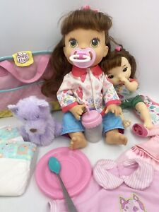 2013 Baby Alive My Baby All Gone Brunette With accessories Clothes