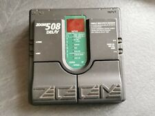 ZOOM 508 DELAY GUITAR EFFECTS PEDAL WITH SOUNDS LIKE THE SHADOWS ECHOES