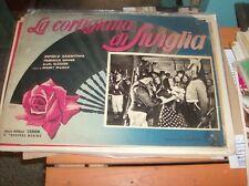 LA CORTIGIANA DI SIVIGLIA fotobusta cartonata piccola originale 1938