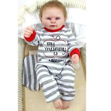 Reborn baby boy Dolls Realistic Lifelike silicones Handmade Vinyle Toys Gifts Real