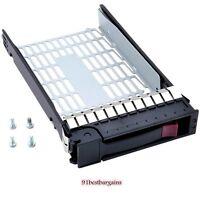 """New HP 3.5"""" SATA SAS FC Tray Caddy 373211-001 Proliant ML350 ML370 DL380 G6 G5"""